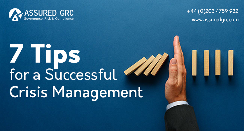 7 Tips for a Successful Crisis Management