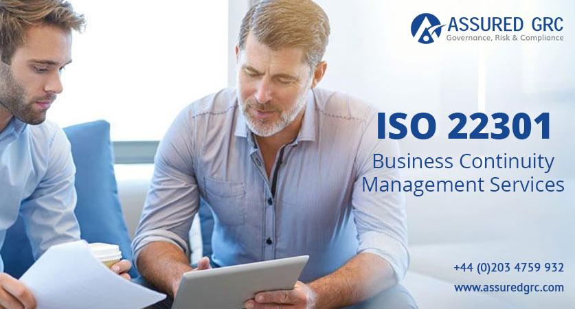 ISO 22301 – Business Continuity Management Services