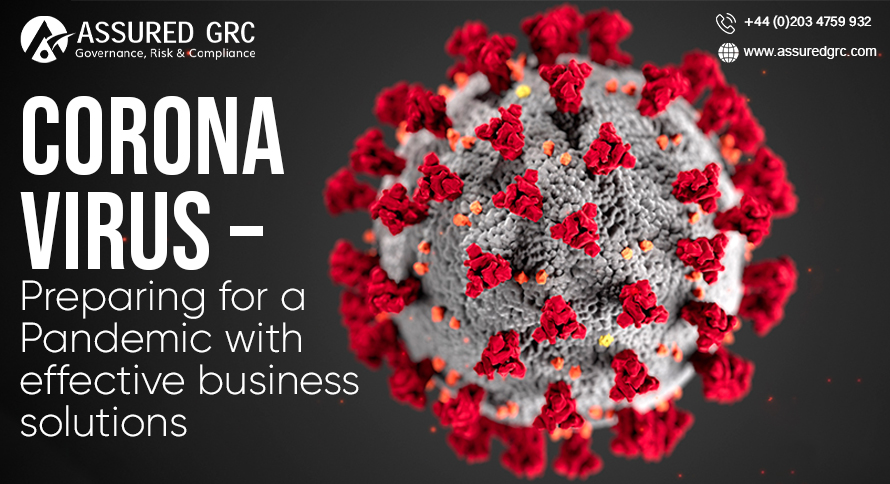 Corona Virus – Preparing for a Pandemic with Effective Business Solutions