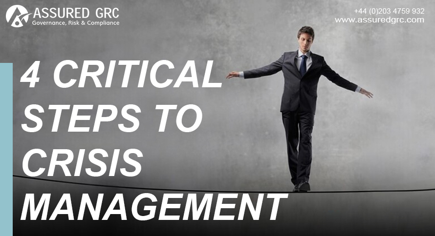 4 Critical Steps to Crisis Management