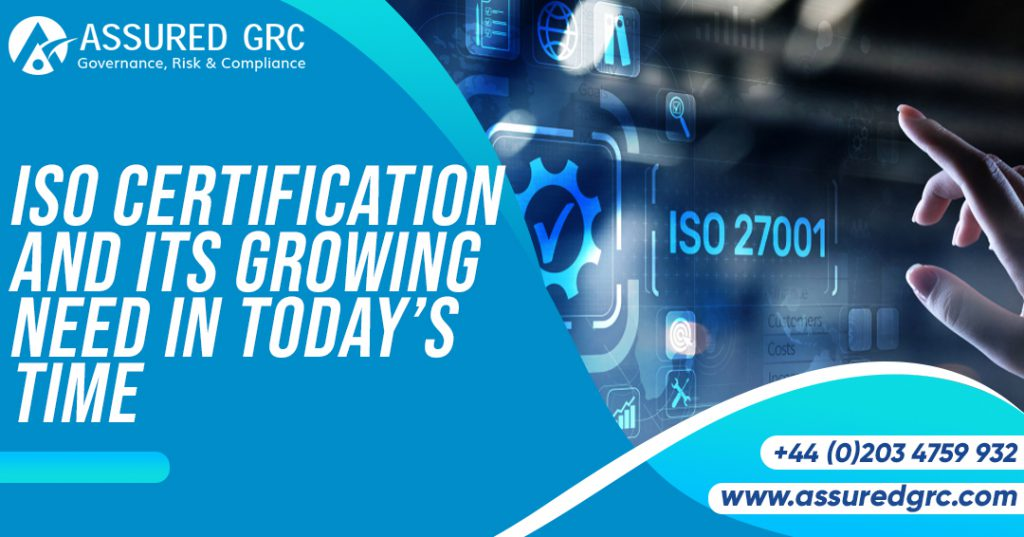 ISO Certification and Its Growing Need