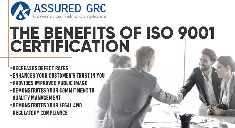 The Benefits of ISO 9001 Certification