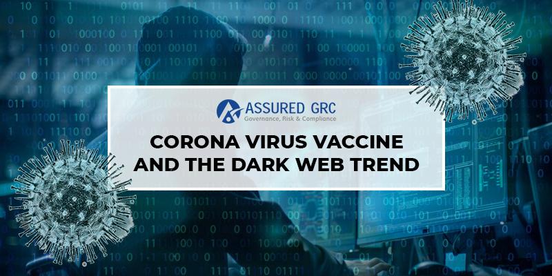 Coronavirus Vaccine and The Dark Web Trend